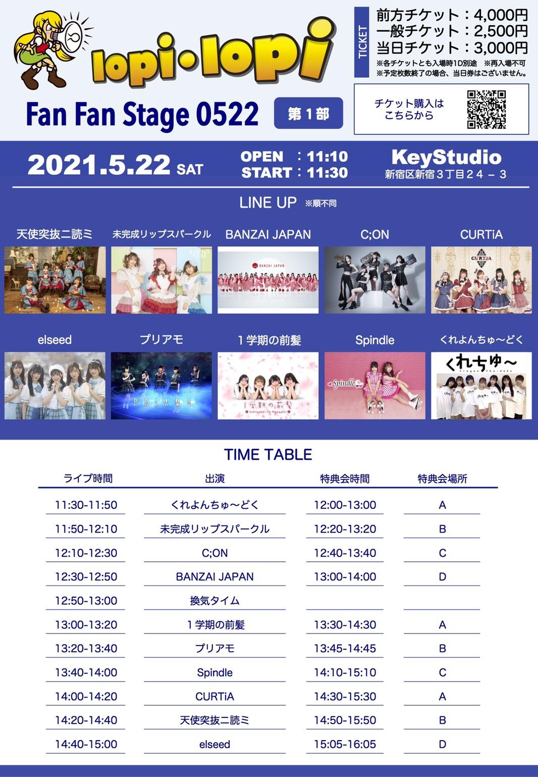 lopi lopi Fun Fun stage 0522@KeyStudio 1部